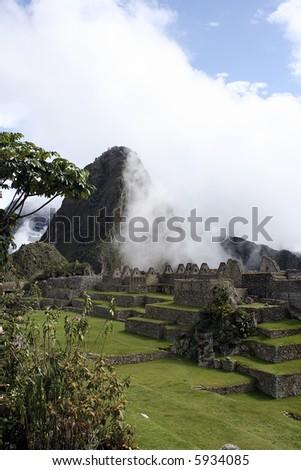 The sacred ruines of machu picchu