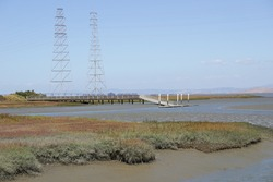 The sailing station in Baylands Park, Palo Alto, California