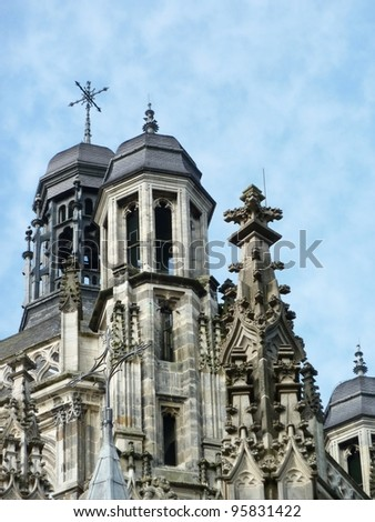 The saint John cathedral in Den Bosch in the Netherlands