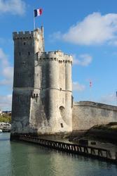 The Saint Nicolas Tower in La Rochelle, France