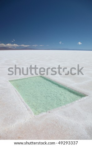 The Salines Grandes in northern Argentina.