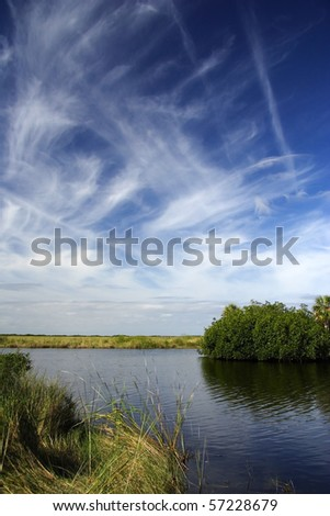 The Scenic Turner River in Big Cypress National Preserve, Florida Everglades