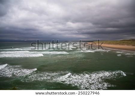 The seaside town of Bundoran in County Donegal, Ireland #250227946