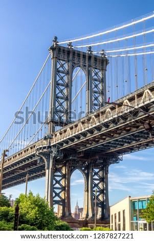 The second most famous bridge in New York, Manhattan Bridge. #1287827221