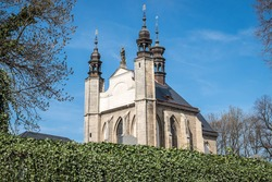 The Sedlec Ossuary (Czech: Kostnice v Sedlci) is a small Roman Catholic chapel in Czech Republic