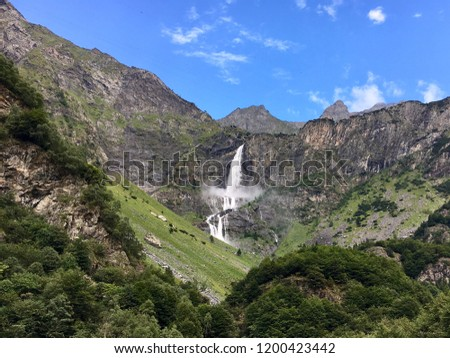 The Serio Falls (Cascate del Serio) are the tallest waterfall in Italy, and the second tallest waterfall in Europe.