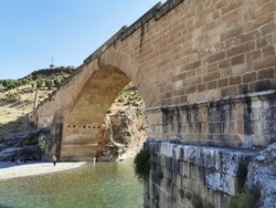 The Severan Bridge or known as cendere Bridge  is a late Roman bridge located near the ancient city of Arsemia