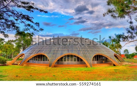 Shutterstock The Shine Dome, the headquarters of the Australian Academy of Science in Canberra. Built in 1959