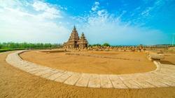 The Shore Temple in Chennai Tamilnadu India