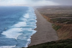 The shores of Point Reyes in California