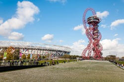 The Shrouds of the Somme at ArcellorMittal Orbit, Olympic Stadium In Queen Elizabeth Olympic
