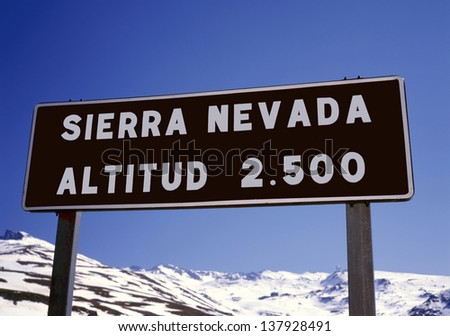The Sierra Nevada in Spain is one of the best ski resorts in the country..Not only in winter time but also in the summer