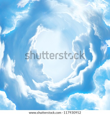 The sky - stock photo