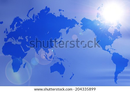 The Sky And The World Map