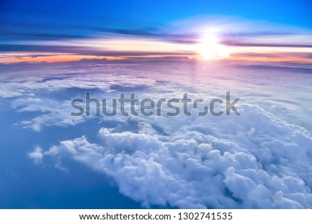 The sky atmosphere of the stratosphere #1302741535