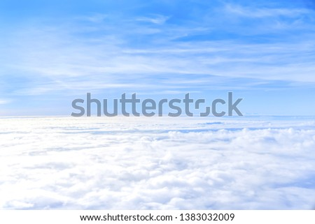 The sky atmosphere of the stratosphere. #1383032009