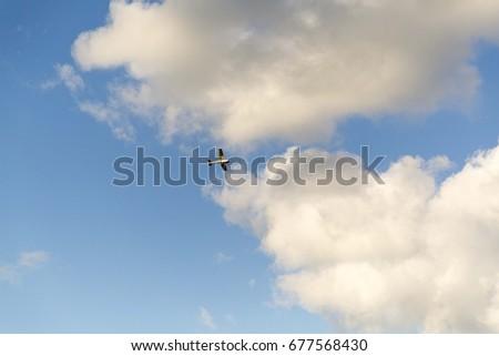the sky plane #677568430