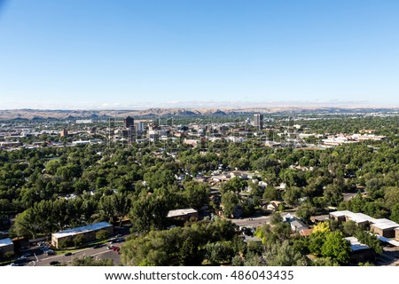 Shutterstock The skyline of Billings, Montana.