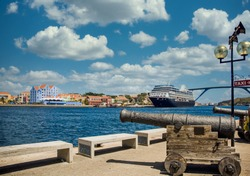 The Skyline of Willemstad, Curacao