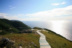 The Skyline Trail in Cape Breton