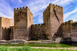 The Smederevo Fortress is a medieval fortified city in Smederevo, Serbia, which was temporary capital of Serbia in the Middle Ages. It was built between 1427 and 1430.