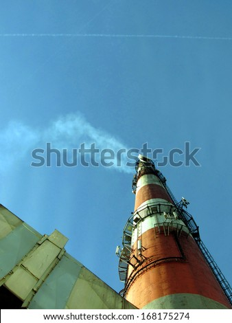 The smoke from the chimney and flue gases from planes - the impact of emissions from smokestacks and exhaust of aircraft on the greenhouse effect