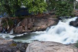 The Smoky Rock Waterfall Hogenakkal