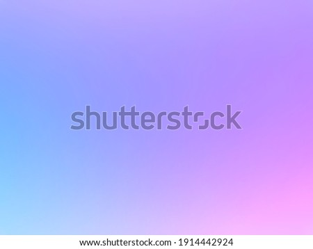 The smoothness of pastel colors on the background of the rainbow gradation using a subtle combination of blue, pink, purple, soft and beautiful.