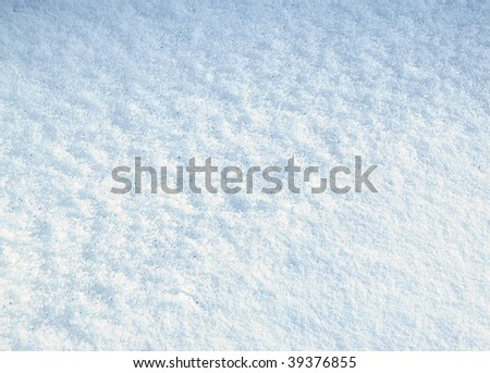 The snow texture, blue natural abstract