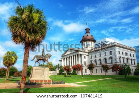 The South Carolina State House in Columbia. #107461415