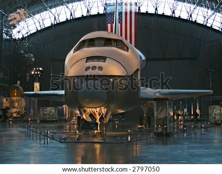 The Space Shuttle Enterprise at the National Air and Space Museum