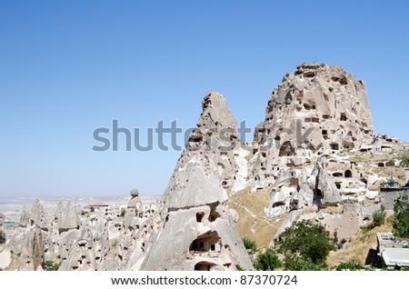 the speciel stone formation of cappadocia turkey