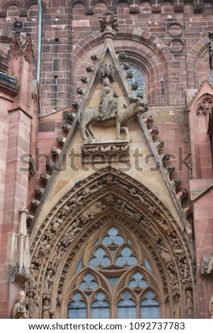 The St Peter's Dom  Wormser Dom is a church in Worms, southern Germany The Dom is located on the highest point of the inner city of Worms and is the most important building of the romanesque style