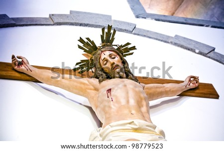 the statue of Jesus Christ