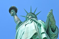 The Statue of Liberty in New York City