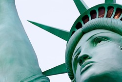 The Statue of Liberty.One of most famous icons of the 4th of July USA.
