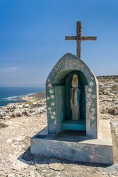 The statue of the Virgin Mary, marking the southern point of Madagascar