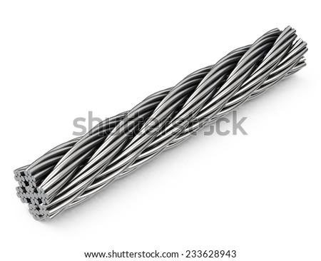 the steel rope Foto d'archivio ©