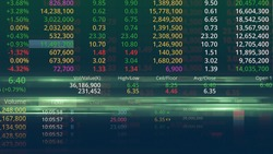 The Stock Exchange, Streaming Trade Screen.