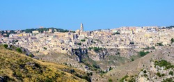 the stones of Matera, European capital of culture 2019, Italy