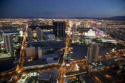 the strip, Las Vegas (USA) by Night