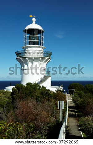 The Sugarloaf Point Lighthouse, New South Wales, Australia - The lighthouse is significant because it is the first major lighthouse by James Barnet.
