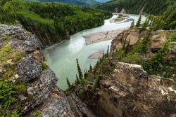 The Sulphur Gates at Grande Prairie in Canada