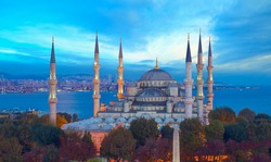 The Sultanahmet Mosque (Blue Mosque) - Istanbul, Turkey