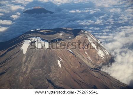 The summit of the Mount Kilimanjaro