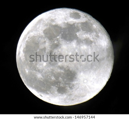 The Super Moon from south Florida / Full Moon