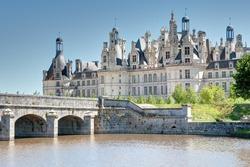 The superb Château de Chambord in France