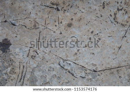 The surface layer of rock #1153574176