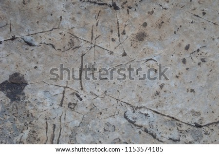 The surface layer of rock #1153574185