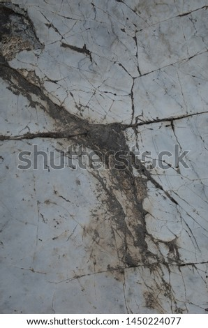 The surface layer of rock #1450224077